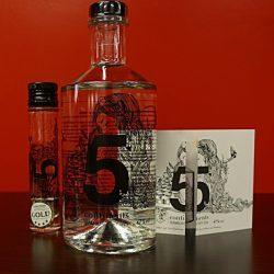 5 Continents Hamburg Dry Gin