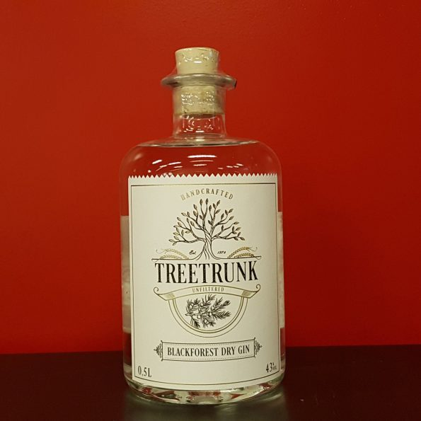 Treetrunk Black Forest Gin